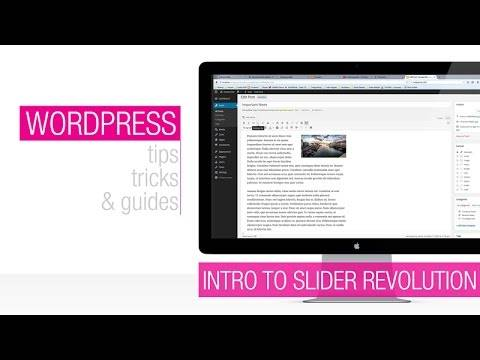 WordPress Tutorial: Revolution Slider Animation Basics