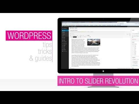 WordPress Tutorial: Revolution Slider Animation Basics