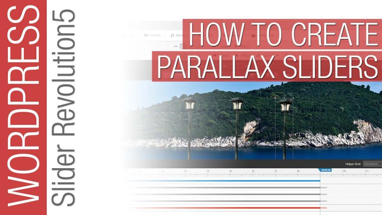 Slider Revolution: Creative Parallax Sliders Tutorial