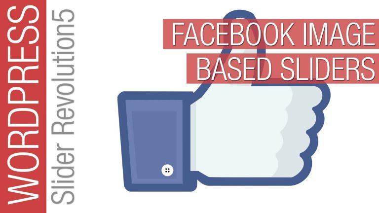 Slider Revolution 5 Facebook Slider