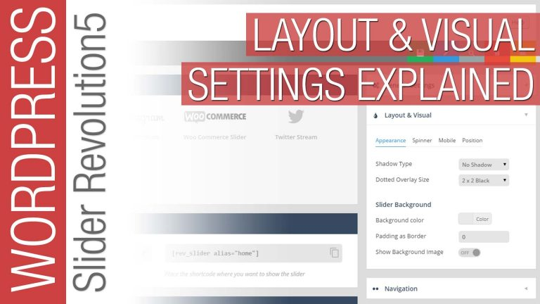 Slider Revolution 5 – Layout & Visual Settings for Beginners