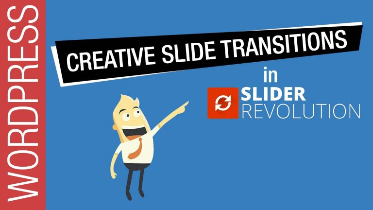 How To Get Creative with Slider Revolution 5 Transitions