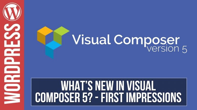 Visual Composer 5 – What's New – Template Library, Save Rows & Sections as Templates