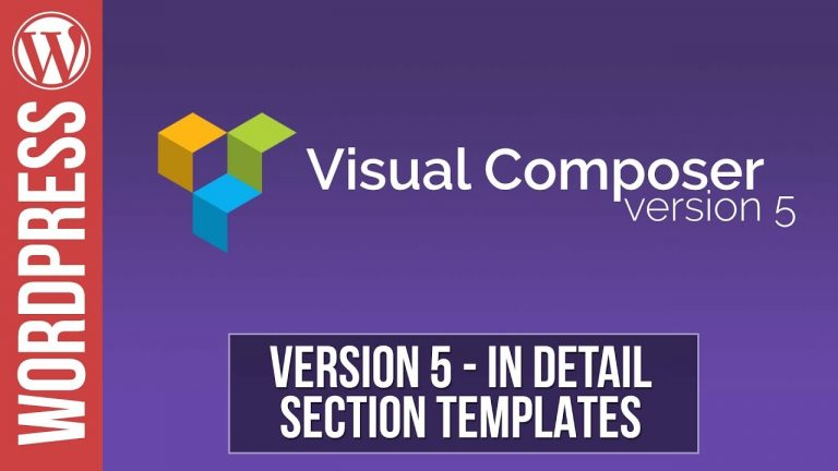 Visual Composer: How to Create Section Templates