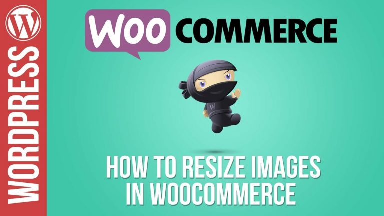 Woocommerce Tutorial Part 5: How To Resize Images