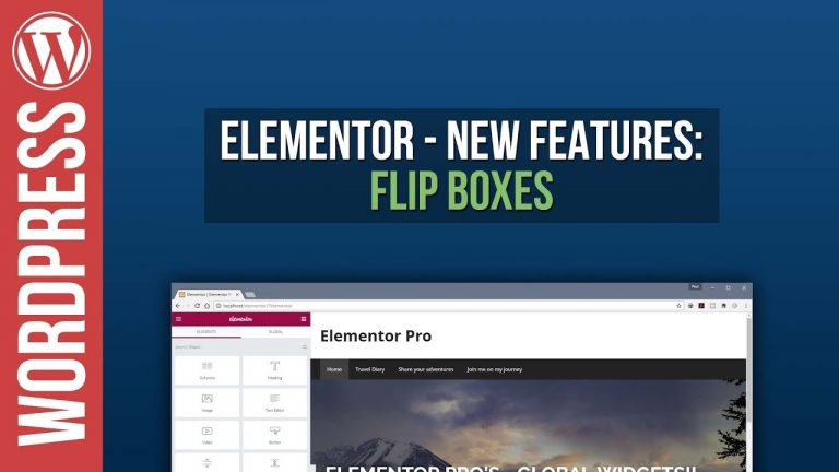 Elementor for WordPress: Flipbox Tutorial