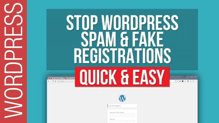 Stop WordPress Spam & Fake Registrations with reCaptcha