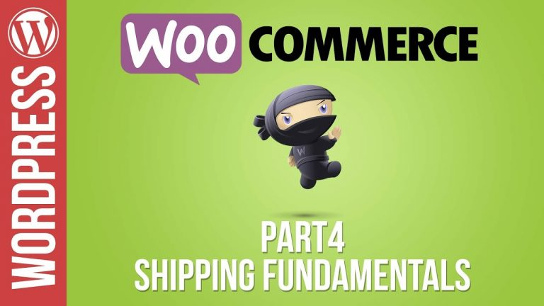 Woocommerce Tutorial Part 4: How to Setup Shipping Charges