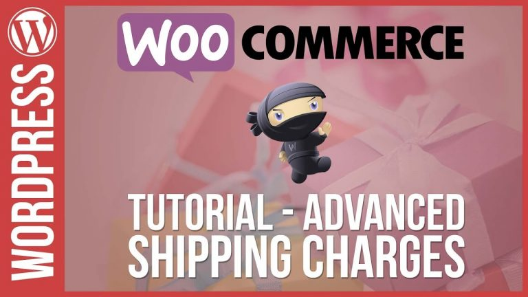 WOOCOMMERCE: Advanced Shipping Charges & Fees
