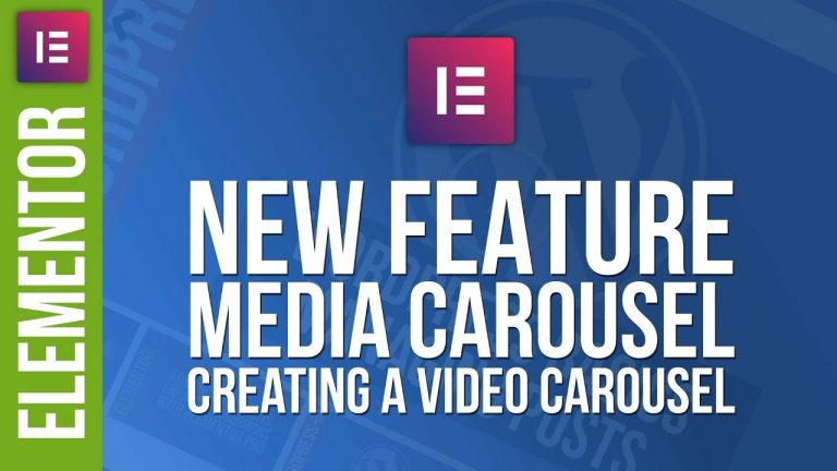 Elementor Pro: Video Player with Media Carousel Tutorial