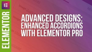 Advanced Accordion Design with Elementor Pro