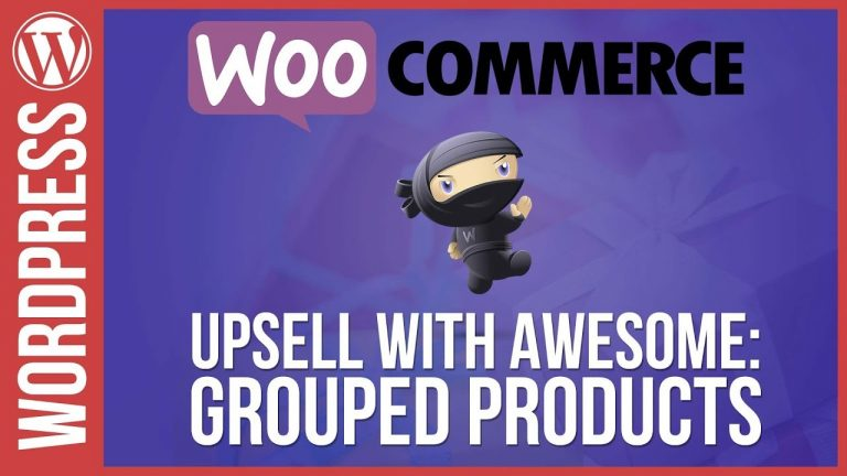 Woocommerce: Up-Sell with Grouped Products