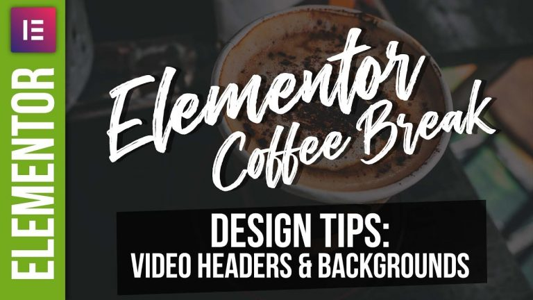 Elementor Video Headers – WordPress Tutorial 2018