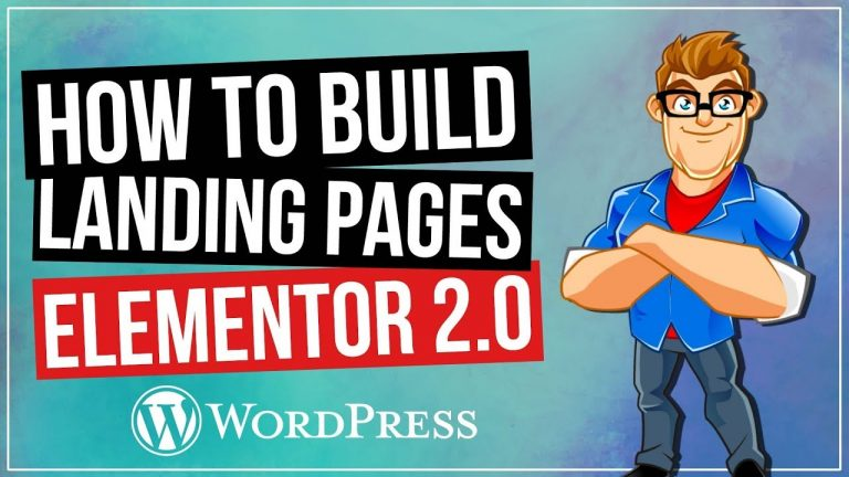 Elementor Landing Pages with Elementor 2.0 Blocks