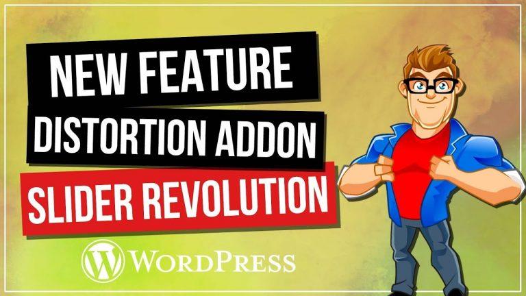 Slider Revolution 5.4 – Distortion Add-On