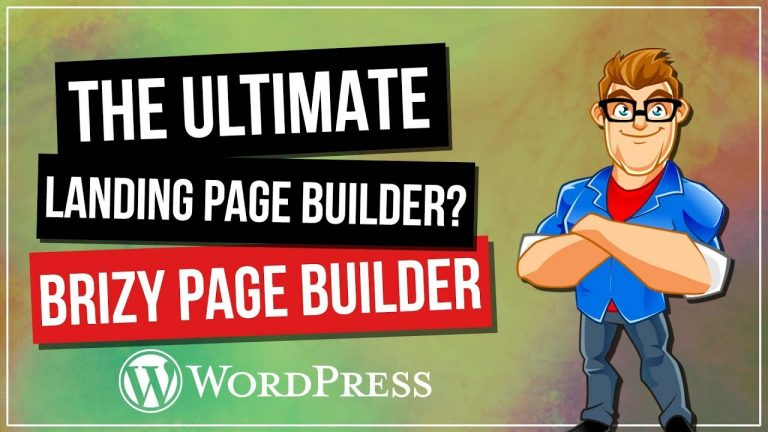 Brizy – The Best FREE WordPress Landing Page Builder?