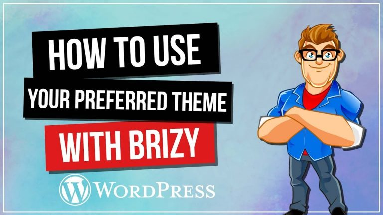 Brizy Page Builder WordPress Tutorial – Theme Headers & Footers