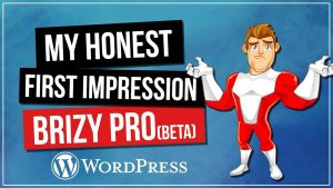 Brizy Pro Review – My Honest First Impression