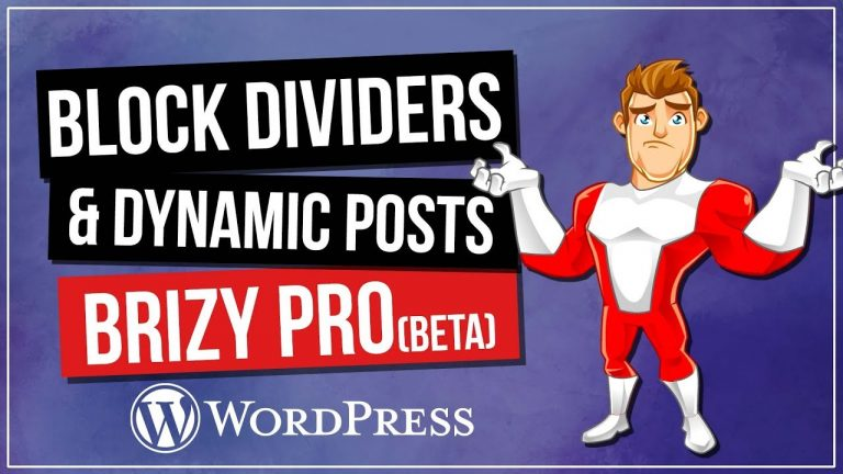 Brizy Page Builder Tutorial – New Pro Beta Features