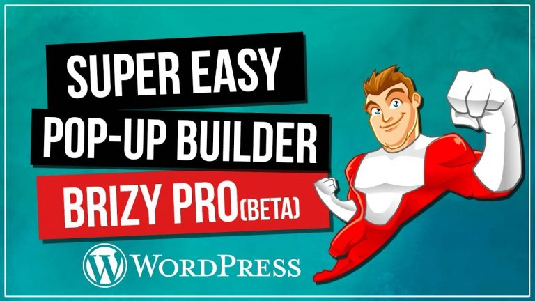 Brizy Page Builder Tutorial | Pro Pop-Up Builder