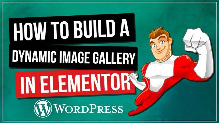 Build A Dynamic Image Gallery In WordPress – Elementor / ACF / UAE