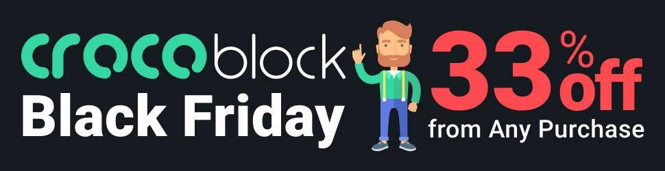 CrocoBlock Black Friday Discount