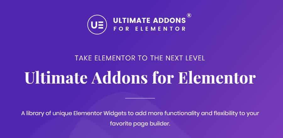 Ultimate Addons for Elementor Black Friday Discount