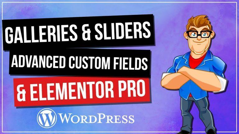 Advanced Custom Fields Elementor (ACF) – Dynamic Content for Elementor