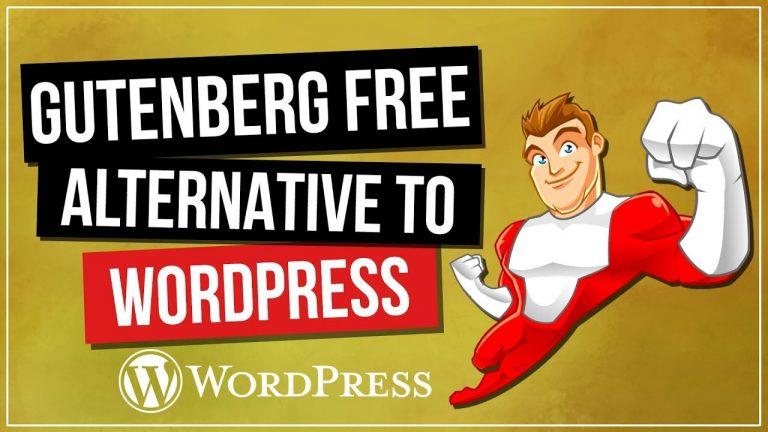 WordPress 5 Gutenberg Free Alternative | ClassicPress 👍🤔