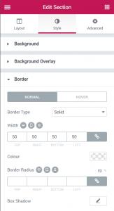 Responsive Borders in Elementor