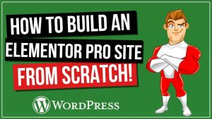 How To Build an Elementor Website From Scratch in an hour!
