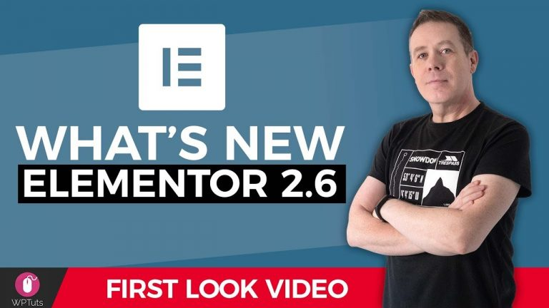 What's New In Elementor 2.6? – SVG | Font Awesome 5 & More