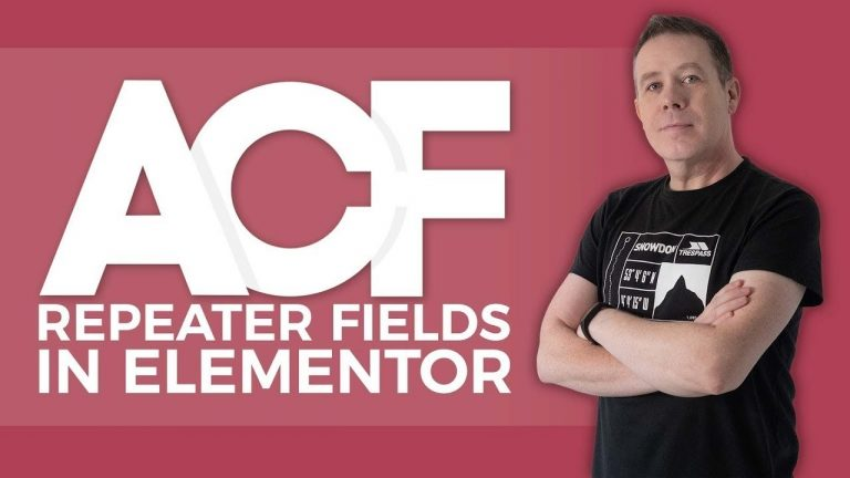 Advanced Custom Fields Tutorial For Beginners (ACF) – Repeater Fields Elementor