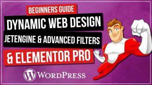 Dynamic Web Design with JetEngine & Elementor Pro | Events List