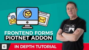 Elementor Front End Posting Form with Piotnet Addons