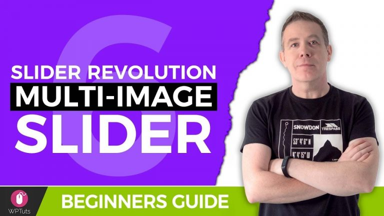 Slider Revolution Tutorial WordPress – Multi Image Slider