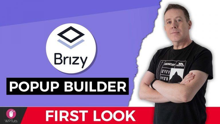 Brizy Pop-Up Builder – Beta Preview – WordPress