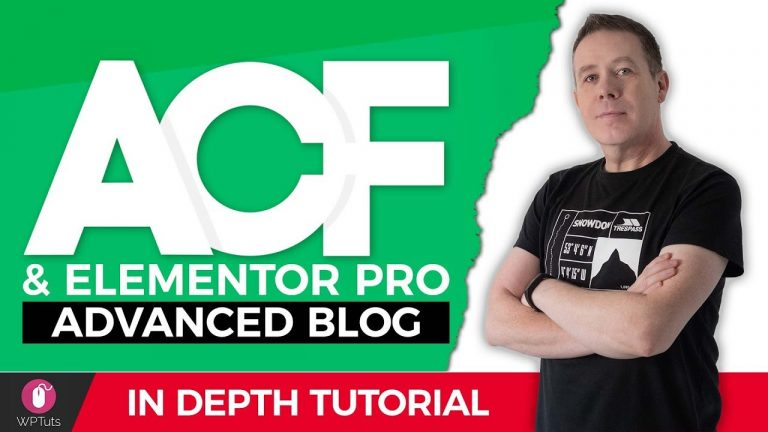 How To Create A Food Blog On WordPress, ACF & Elementor Pro!