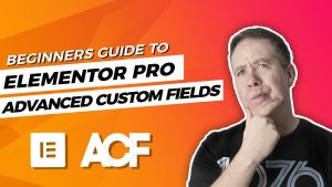 Advanced Custom Fields Elementor Pro Beginners Tutorial