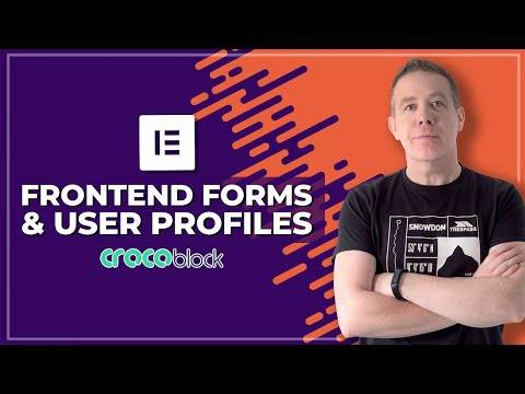 Crocoblock Jet Engine 2.2 – Front End Forms & User Profiles