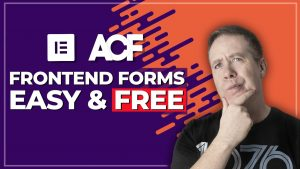 WordPress Frontend Form Submit with Elementor & ACF