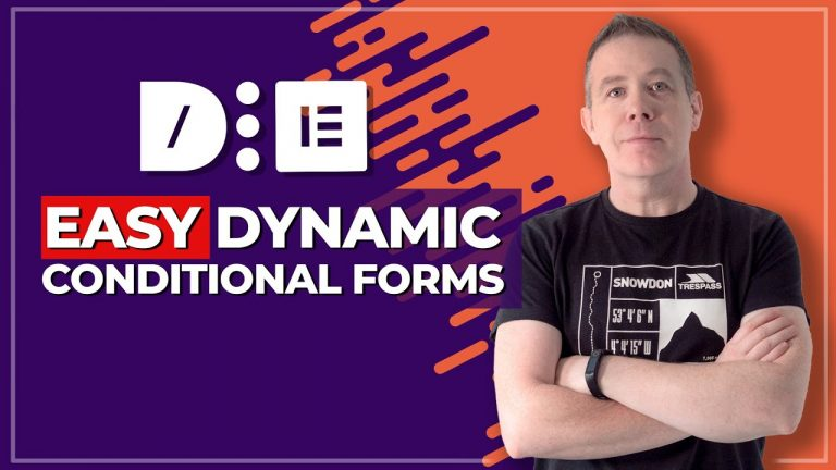 Elementor Forms Conditional Logic with Dynamic Content for Elementor