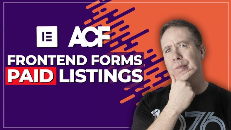 ACF Frontend Form Pro – Pay To Add Listings – NEW FEATURE (Beta)