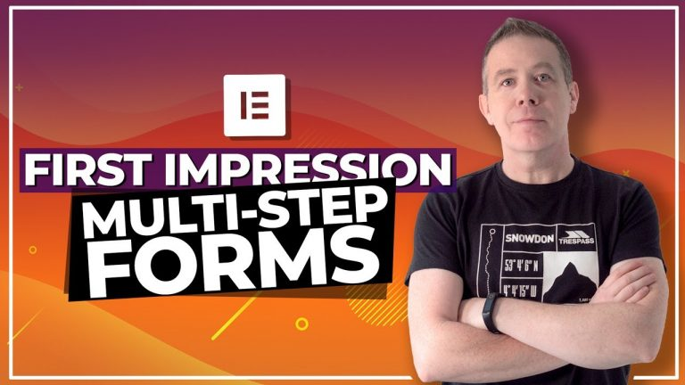 Multi Step Forms with Elementor Pro 2.10 – First Impressions
