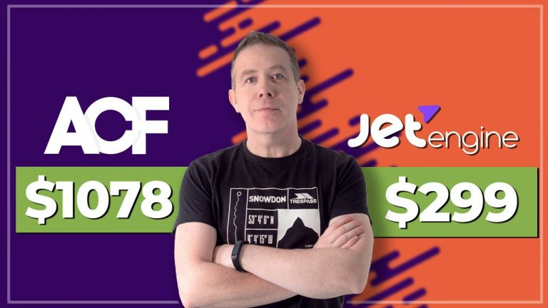 ACF Pro Full Feature Stack vs JetEngine